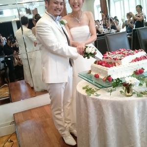 スタッフ結婚式(^-^)