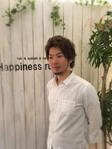 店長<br />辻 鉄平<br />Teppei Tsuji